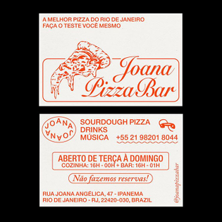 Identity for @joanapizzabar by @sometimes__alway