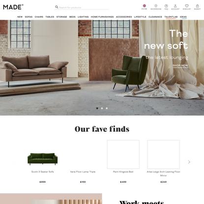 MADE.com: Design Furniture & Accessories