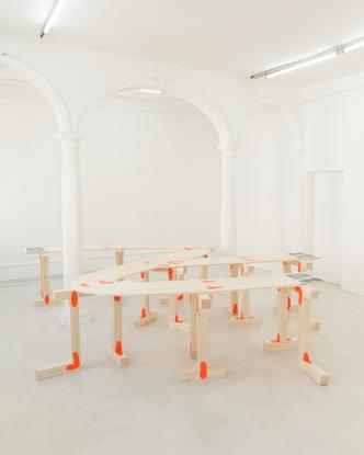 "BNAG.cc (@bnag.cc) posted on Instagram: ""We made a table for the exhibition Ekstase 1,2,3 at @kunstverein_goettingen by @how..."