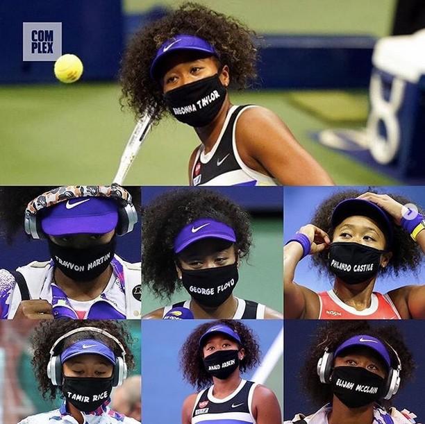Naomi Osaka wins US Open 2020 while wearing masks to honor Black victims of violence