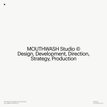 Home - Mouthwash