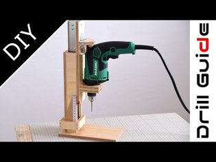 How to build a Drill Press(Drill Guide) Machine | Handmade Drill stand