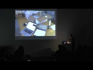 Markus Weisbeck Lecture - Staedelschule Architecture Class (SAC) Lecture Series - April, 2014