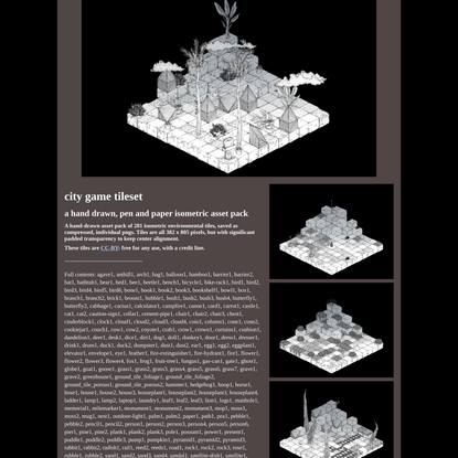 city game tileset by withering systems, loren schmidt, Everest Pipkin