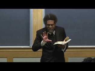 Cornel West - The Historical Philosophy of W.E.B. Du Bois - Class