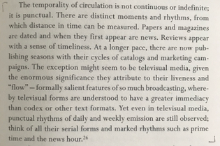The temporality of circulation