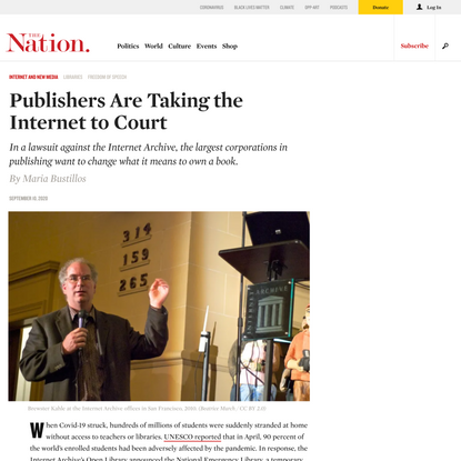 Publishers Are Taking the Internet to Court