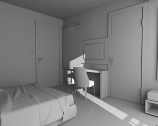 Bojkowski, Michael. 'Many-Rooms' project. Branded imagery. Required credit: Original render by brsmvzr.