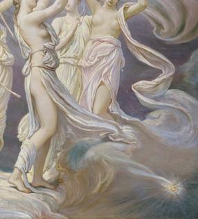 he Pleiades, 1885