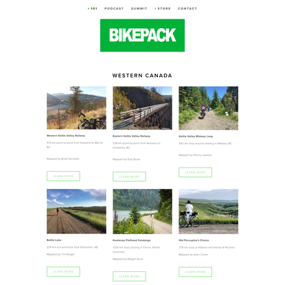 Routes — Bikepack Canada