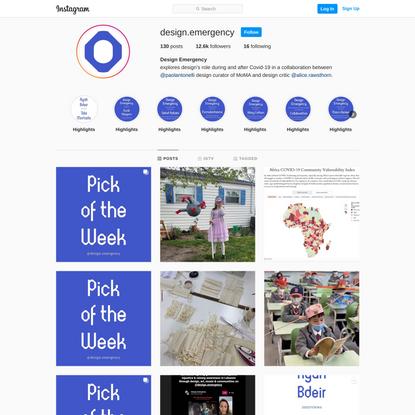 Design Emergency (@design.emergency) • Instagram photos and videos