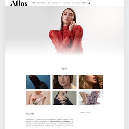 Home - Atlas Magazine - Submissions Based Fashion Magazine