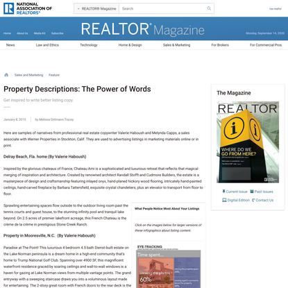 Property Descriptions: The Power of Words