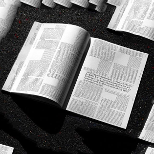 Omens multidimensional report for the Center for Study of Existential Risk. Soon on my website. With Everett typeface by @nln.pprll #bookdesign #cser #graphicdesign
