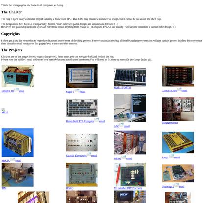 Homebrew Computers Web-Ring