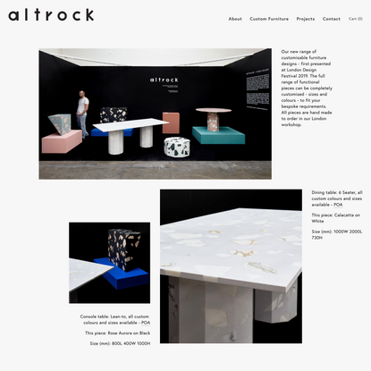 Custom Furniture — altrock