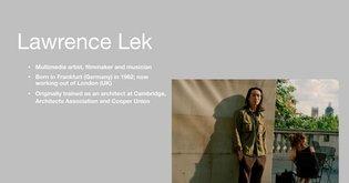 Lawrence Lek