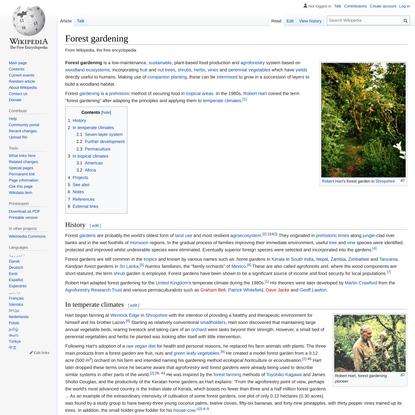Forest gardening - Wikipedia