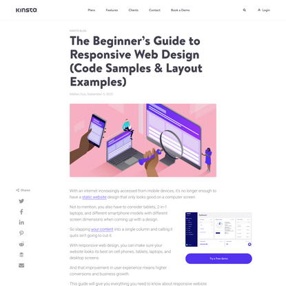 The Beginner's Guide to Responsive Web Design in 2020 (Code Samples)