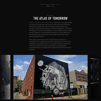 The Atlas of Tomorrow