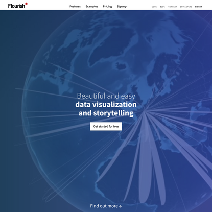 Flourish | Data Visualization & Storytelling