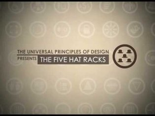 The Five Hat Racks - (A Motion Graphics from The Universial Principles of Design)