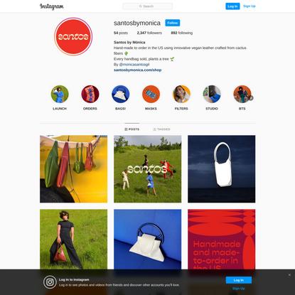 Santos by Mónica (@santosbymonica) • Instagram photos and videos