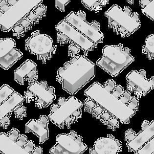 Field of Desks, HMWRK, 2020