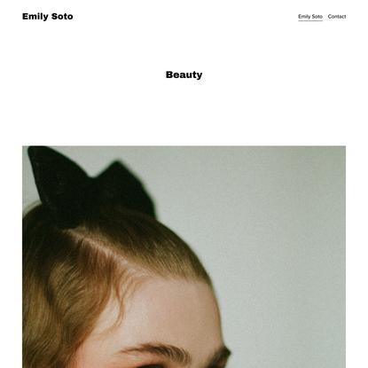 Beauty — Emily Soto