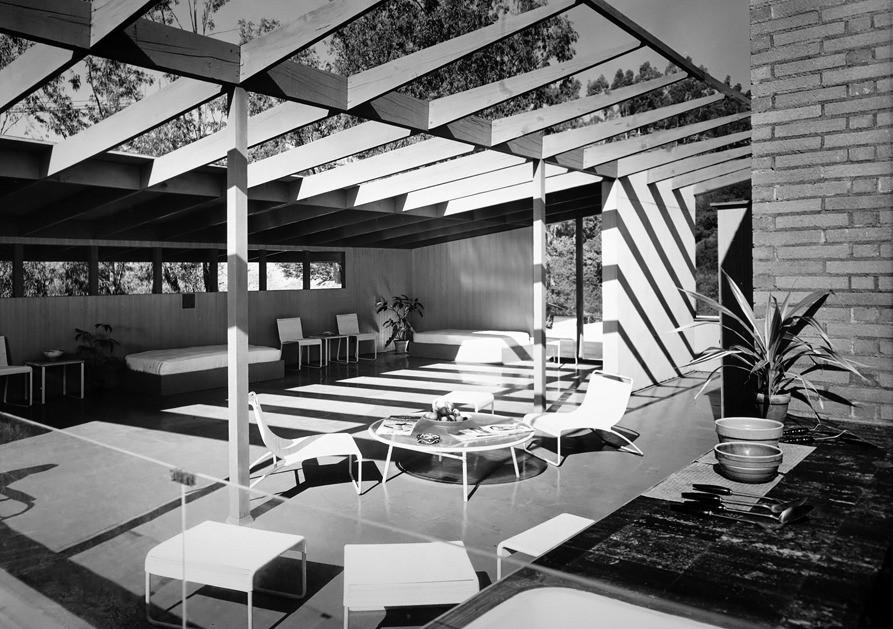Rodney Walker /// Case Study House 16 /// Beverly Hills, California, USA /// 1947