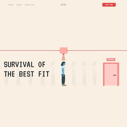 Survival of the Best Fit
