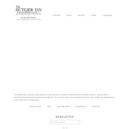 The Outlier Inn
