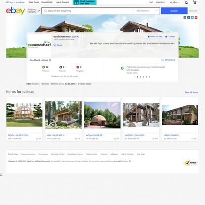 ecohousemart on eBay