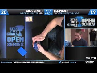 SCGSTL - Legacy - Semifinals - Greg Smith vs Lee Prost