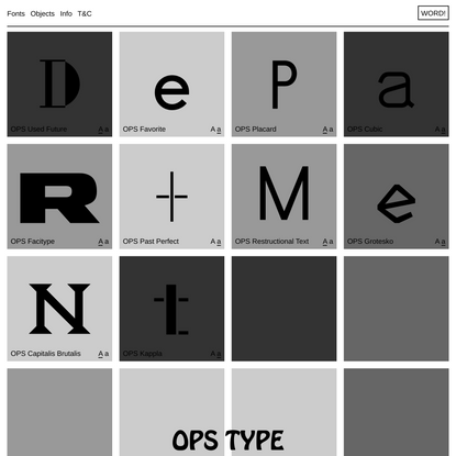 OPS Type