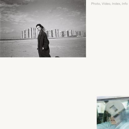 Greta Van Der Star - Photographer and filmmaker based in Auckland, New Zealand