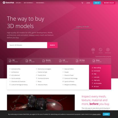 Buy Royalty Free 3D models