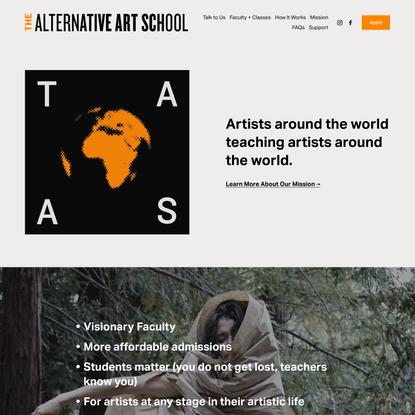 The Alternative Art School