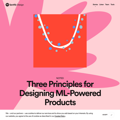 Three Principles for Designing ML-Powered Products