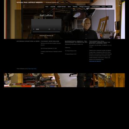 Official Paul Laffoley Website