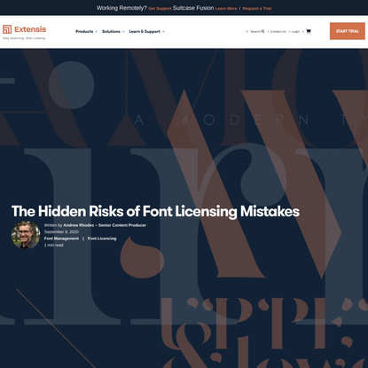 The Hidden Risks of Font Licensing Mistakes