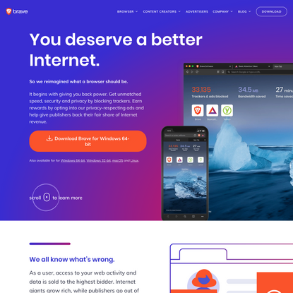 Secure, Fast & Private Web Browser with Adblocker   Brave Browser