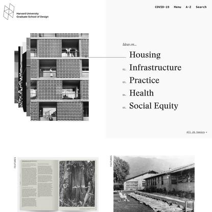 Home - Harvard Graduate School of Design