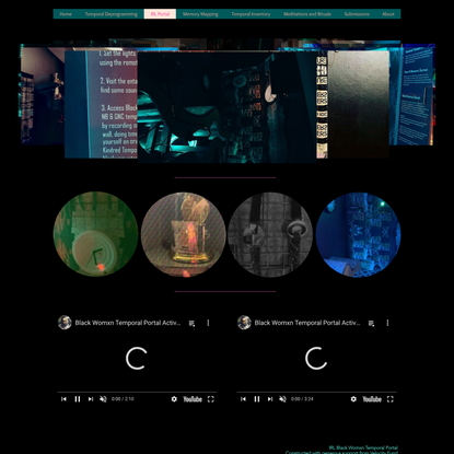 IRL Portal | BlackWomxnTemporal