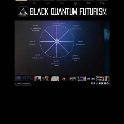 Black Quantum Futurism/The AfroFuturist Affair