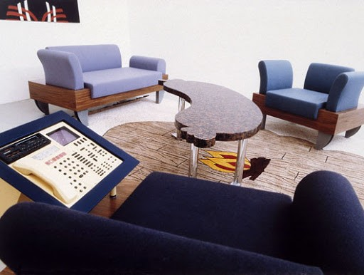 "Andreas Brandolini, ""A German Living Room"", documenta 8, Kassel, 1987"