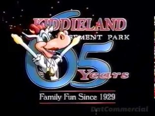 Kiddieland Amusement Park Commercial (1993) Melrose Park Illinois