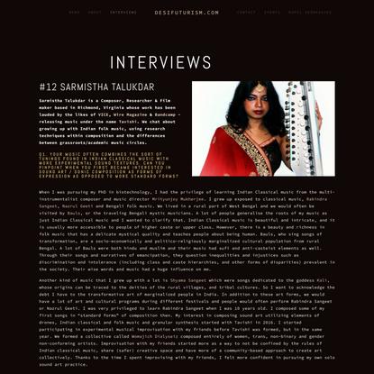 Interviews — DesiFuturism.com