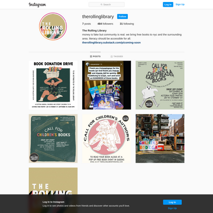 The Rolling Library (@therollinglibrary) • Instagram photos and videos