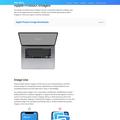 Marketing Resources and Identity Guidelines - App Store - Apple Developer